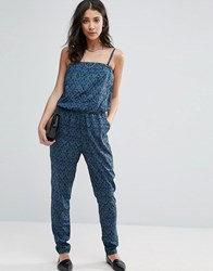 Vero Moda Graphic Print Jumpsuit Ester Print North Multi