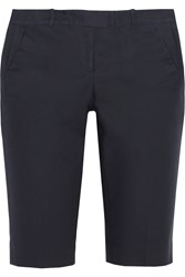 Michael Michael Kors Stretch Cotton Shorts Blue