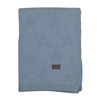 Gant Top Star Knitted Throw Waves