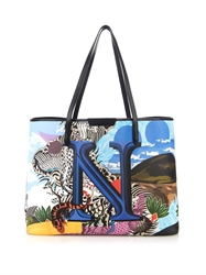 Mary Katrantzou N Melina Coated Canvas Tote