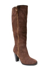 Two Lips Lexy Tall Boot Brown