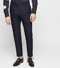 Reiss Chilwa T Slim Fit Trousers In Navy