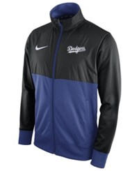 Nike Men's Los Angeles Dodgers Track Jacket 1.7 Black Royalblue