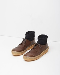 Zucca Scuba Sock Oxford Dark Brown