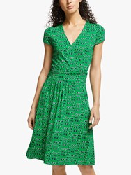 Boden Lola Jersey Dress Rich Emerald Lunettes