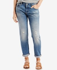 Levi's 501 Ct Customized Tapered Boyfriend Jeans Baked Sun