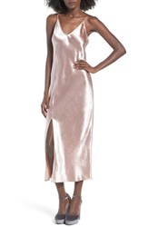 J.O.A. Women's Satin Slipdress