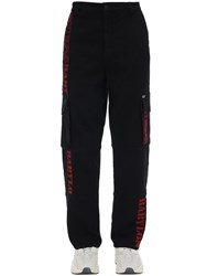 Guess Babylon Tech Cargo Pants Black