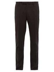 Incotex Tailored Wool Blend Trousers Grey