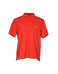 Project E Polo Shirts Red