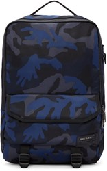 Diesel Blue Camo F Close Backpack