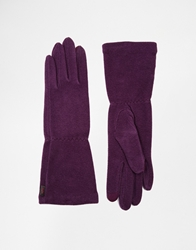 Echo Touch 'Cashmere Feel' Long Glove 510Blackplum