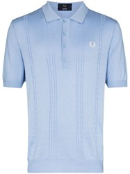 Fred Perry Embroidered Logo Knit Polo Shirt 60