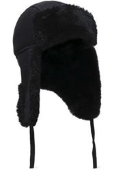 Australia Luxe Collective Shearling Hat Black