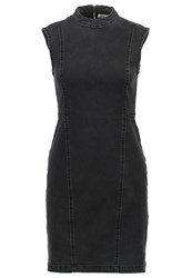 Noisy May Nmmaya Denim Dress Black