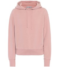 Vince Cotton Hoodie Pink