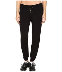 Kate Spade New York X Beyond Yoga Relaxed Bow Long Sweatpants Black Women's Casual Pants