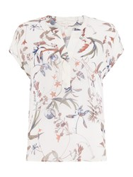 Part Two Helena Floral Top Multi Coloured Multi Coloured