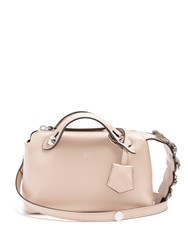 Fendi By The Way Mini Embellished Leather Cross Body Bag Light Pink