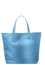 Paul's Boutique Tote Bag Teal Silver Blue