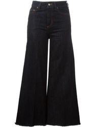 Red Valentino Cropped Trousers Blue