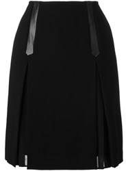 Steffen Schraut Straight Skirt Black