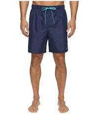 Nike Emboss 7 Volley Shorts Midnight Navy Men's Swimwear Blue