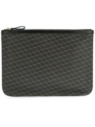 Pierre Hardy 'Pouch Canvas Cube' Clutch Black