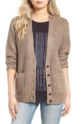 Obey Women's Barnette Knit Cardigan
