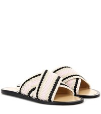 Rag And Bone Keaton Slide Slip On Sandals Beige