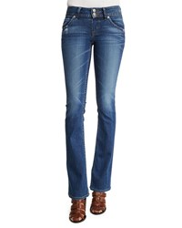 Hudson Sigboot Low Rise Boot Cut Jeans Point Break Petite