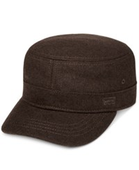 Levi's Men's Melton Cadet Hat Brown