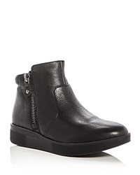 Gentle Souls Harper Sneaker Booties Black