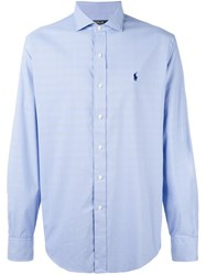 Polo Ralph Lauren Checked Shirt Blue