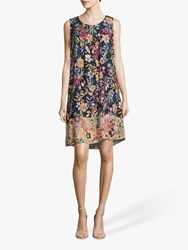 Betty And Co. Floral Print Shift Dress Multi