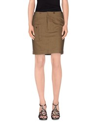 Ralph Lauren Skirts Mini Skirts Women Military Green