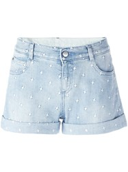 Stella Mccartney Tomboy Star Shorts Blue