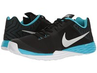 Nike Train Prime Iron Df Black Metallic Silver Chlorine Blue Men's Cross Training Shoes