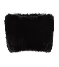 Harrods Of London Knitted Fox Fur Snood Female