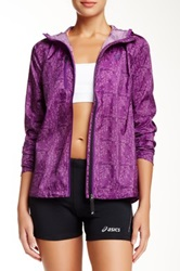 Asics Fujitrail Packable Jacket Purple