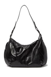 Hobo Lennox Leather Shoulder Purse Black