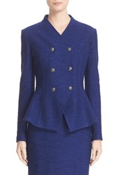 St. John Women's Collection Catalina Double Breasted Knit Jacket