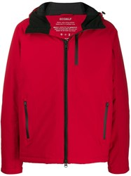 Ecoalf Weather Wiking Jacket Red