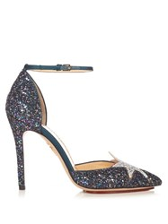 Charlotte Olympia Twilight Princess Glitter Pumps Multi