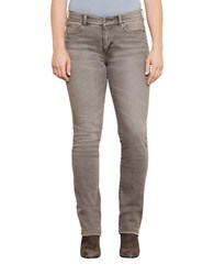 Lauren Ralph Lauren Plus Premier Stretch Straight Jeans Concrete