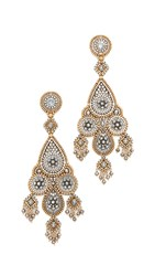 Miguel Ases Madison Earrings Gold Multi