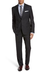 Nordstrom Men's Men's Shop Trim Fit Check Wool Suit