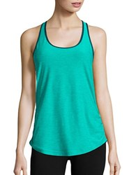 New Balance Ruched Athletic Tank Blue