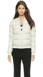 Atm Anthony Thomas Melillo Nylon Down Puffer Jacket Grey