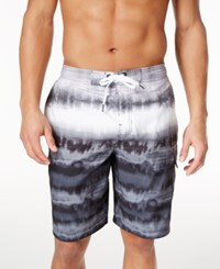Speedo Men's Tie Dye Boardshorts Speedo Black